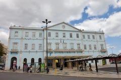 ΛΙΣΣΑΒΩΝΑ, ΠΟΡΤΟΓΑΛΙΑ - 24 ΙΟΥΝΊΟΥ: Το Santa Apolonia είναι το παλαιότερο τέρμα σιδηροδρόμων στη Λισσαβώνα τον Απρίλιο του 2015 σ Στοκ Εικόνες