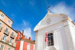 Λισσαβώνα, η εκκλησία Santa Engracia Στοκ Εικόνες