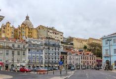 Λισσαβώνα κοντά στο σταθμό του ST Apolonia - Πορτογαλία Στοκ εικόνα με δικαίωμα ελεύθερης χρήσης