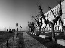 Λισσαβώνα Ξημερώματα και άνοιξη Στοκ Φωτογραφία