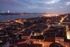Λισσαβώνα πέρα από την όψη Στοκ Εικόνα