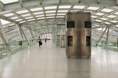Λισσαβώνα Πορτογαλία, σιδηροδρομικός σταθμός Oriente Στοκ Φωτογραφίες
