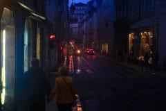 Λισσαβώνα, Πορτογαλία, ζεύγος Στοκ Φωτογραφία