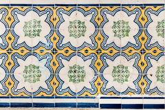 Λισσαβώνα, Πορτογαλία - 18 Ιανουαρίου: Όμορφα παραδοσιακά κεραμίδια azule Στοκ Εικόνα