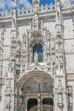 Λισσαβώνα Πορτογαλία Μοναστήρι Jeronimos Στοκ φωτογραφία με δικαίωμα ελεύθερης χρήσης