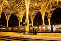 Λισσαβώνα, Πορτογαλία: ο ανατολικός) σιδηροδρομικός σταθμός Oriente ( Στοκ φωτογραφία με δικαίωμα ελεύθερης χρήσης