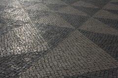 Λισσαβώνα, δρόμος ως υπόβαθρο Στοκ εικόνα με δικαίωμα ελεύθερης χρήσης