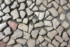 Λισσαβώνα, δρόμος ως υπόβαθρο Στοκ φωτογραφία με δικαίωμα ελεύθερης χρήσης