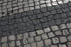 Λισσαβώνα, δρόμος ως υπόβαθρο Στοκ Φωτογραφία