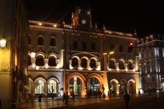 Λισσαβώνα, σιδηροδρομικός σταθμός Rossio Στοκ Φωτογραφίες