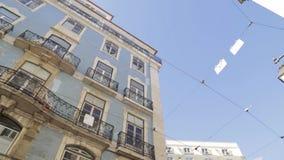 Λισσαβώνα - χαρακτηριστικό σπίτι απόθεμα βίντεο