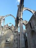 Λισσαβώνα Convento do Carmo στοκ εικόνα