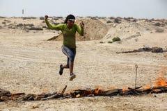 Λιτή φυλή Ντουμπάι Στοκ Φωτογραφίες