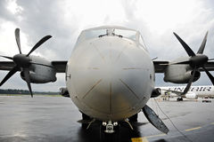 Λιτό στρατιωτικό πιλοτήριο αεροπλάνων Στοκ Εικόνα