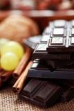 λιχουδιές σοκολάτας στοκ εικόνες