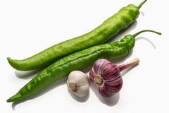 Λοβοί του πράσινου πιπεριού Στοκ Εικόνα