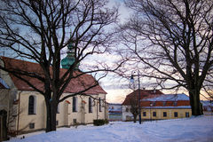 Λοβός Jedlovou Jiretin Στοκ εικόνες με δικαίωμα ελεύθερης χρήσης