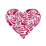 Λογαριασμένη καρδιά Στοκ Εικόνες