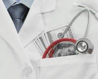 Λογαριασμοί γιατρών Στοκ Φωτογραφία