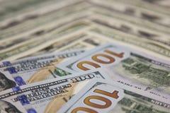 Λογαριασμοί δολαρίων υποβάθρου Στοκ φωτογραφίες με δικαίωμα ελεύθερης χρήσης