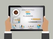 Λογαριασμός και προγραμματισμός απεικόνιση αποθεμάτων