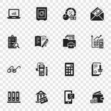 Λογιστικό διεθνές σύνολο εικονιδίων ημέρας, απλό ύφος διανυσματική απεικόνιση