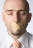 λογοκρισία στοκ φωτογραφίες