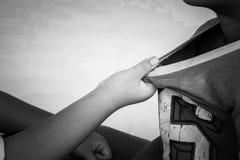 Λογομαχώντας αγόρια Στοκ φωτογραφία με δικαίωμα ελεύθερης χρήσης