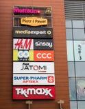 Λογότυπα επιχείρησης Στοκ εικόνα με δικαίωμα ελεύθερης χρήσης