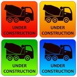 Λογότυπα κατασκευής Στοκ εικόνα με δικαίωμα ελεύθερης χρήσης