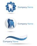 λογότυπα οδοντιάτρων απεικόνιση αποθεμάτων