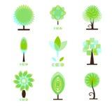 Λογότυπα οικολογίας Στοκ Εικόνα