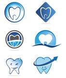 λογότυπα οδοντιάτρων Στοκ Εικόνες