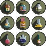 Λογότυπα στη χημεία Στοκ Εικόνα