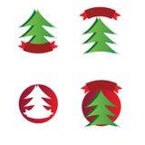 Λογότυπα Χριστουγέννων Στοκ εικόνα με δικαίωμα ελεύθερης χρήσης