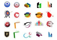 λογότυπα Στοκ Φωτογραφία