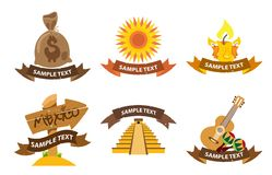 Λογότυπα Mexica Στοκ φωτογραφία με δικαίωμα ελεύθερης χρήσης