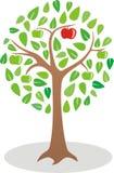 Λογότυπο δέντρων της Apple Στοκ φωτογραφίες με δικαίωμα ελεύθερης χρήσης