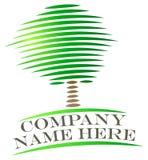 Λογότυπο δέντρων διανυσματική απεικόνιση