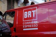 Λογότυπο αγγελιαφόρων Bartolini Στοκ φωτογραφία με δικαίωμα ελεύθερης χρήσης