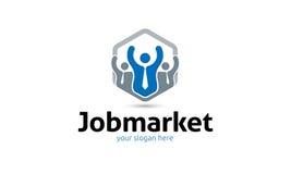 Λογότυπο αγορών εργασίας Στοκ εικόνα με δικαίωμα ελεύθερης χρήσης