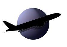 λογότυπο αεροπλάνων στοκ εικόνες με δικαίωμα ελεύθερης χρήσης