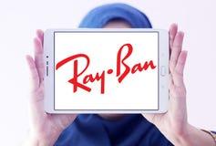 Λογότυπο ακτίνα-απαγόρευσης Στοκ εικόνα με δικαίωμα ελεύθερης χρήσης