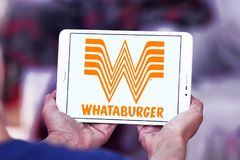 Λογότυπο αλυσίδων εστιατορίων Whataburger Στοκ Φωτογραφία