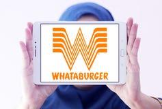 Λογότυπο αλυσίδων εστιατορίων Whataburger Στοκ Φωτογραφίες