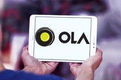 Λογότυπο αμαξιών Ola Στοκ εικόνα με δικαίωμα ελεύθερης χρήσης
