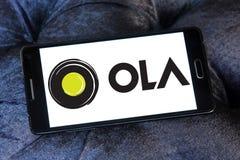 Λογότυπο αμαξιών Ola Στοκ εικόνες με δικαίωμα ελεύθερης χρήσης