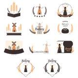 Λογότυπο αρτοποιείων Διανυσματική απεικόνιση