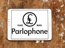 Λογότυπο αρχείων Parlophone Στοκ Φωτογραφία