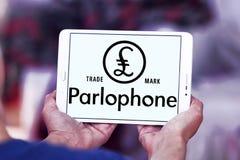 Λογότυπο αρχείων Parlophone Στοκ φωτογραφίες με δικαίωμα ελεύθερης χρήσης